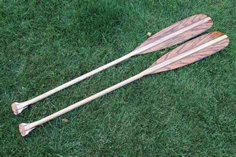 Handmade Paddles - crafted new custom handcrafted wood canoe paddles by