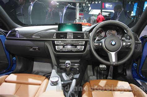 bmw 3 series dashboard 2016 bmw 3 series facelift dashboard indian autos blog