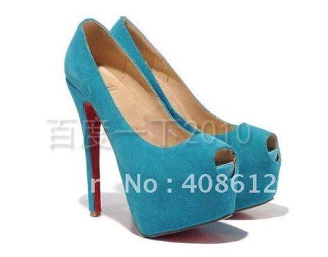 sky blue high heels fish sandals sky blue 16cm high heels classic
