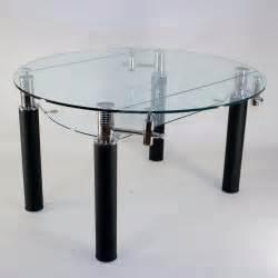 Merveilleux Table En Verre A Rallonge #1: table-en-verre-ronde-a-rallonge-extensible-nero-o-130-cm-1398289.jpg
