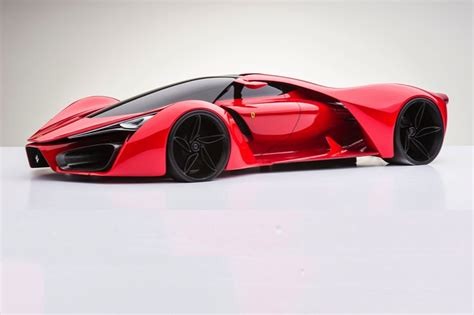 this is the 1 200 hp ferrari hypercar of the future