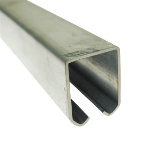 Heavy Duty Steel Track For Overhead System Overhead Sliding Door Track