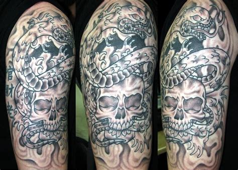 gambling tattoos designs half sleeve design for ideas