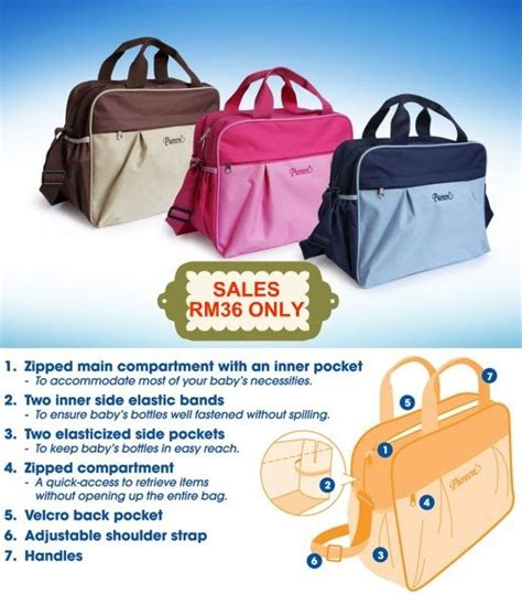 Tas Perlengkapan Bayi Babygo Inc Classic Tote Cooler Bag bag backpack yang bagus buy land bag maternity nappy bags large capacity