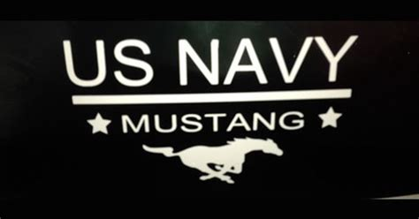 limited duty officer ldo the motivation the process the end state goal in becoming a mustang books us navy mustang vehicle window decal from mustang loot u