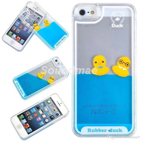 Hardcase 3d Iphone 6 Iphone 6 6s Plus 3d Liquid Floating Rubber Duck