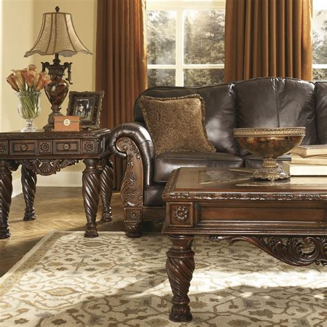 shore brown living room set from 22603