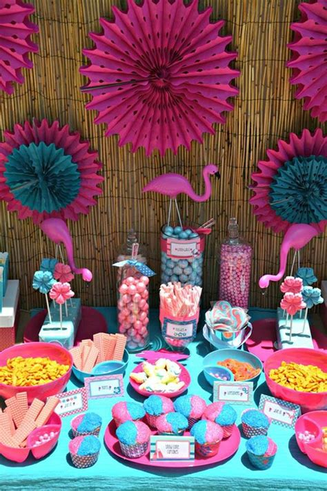 pool party decorations kara s party ideas flamingo pool party planning ideas
