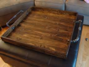 wood trays for ottomans best 25 ottoman tray ideas on coffee table