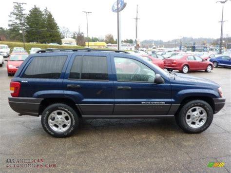 2000 Blue Jeep Grand 2000 Jeep Grand Laredo 4x4 In Patriot Blue
