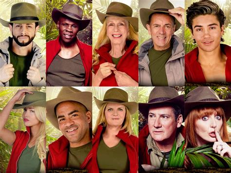 what is im a celebrity about i m a celeb 2015 the celebrities revealed news
