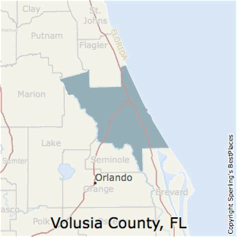 zip code map volusia county best places to live in volusia county florida