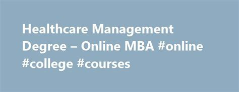 Healthcare Administration Concentration Mba by Best 25 Leadership Roles Ideas On Student