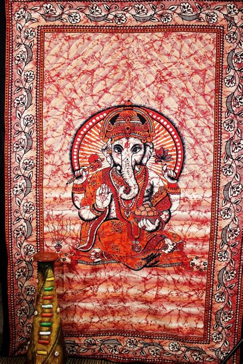 room tapestry ganesha tapestry lord ganesha wall hanging wall hippie tapestry room decor bedding