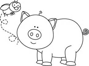 black white black and white fly and pig clip art black and white fly and pig image