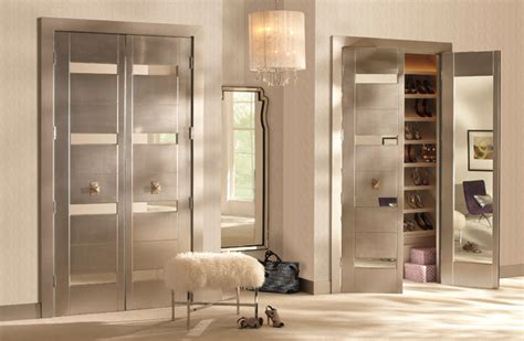 Modern Bedroom Doors by Trustile Modern Door Collection Interior Mirror Doors