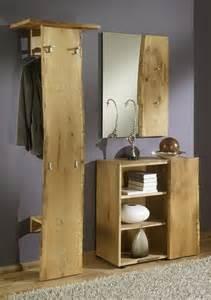 garderobe eiche massivholz garderobe eiche massiv ge 246 lt naturas