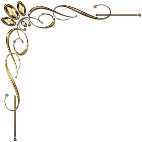corner design golden corner ornament 1 by lyotta on deviantart