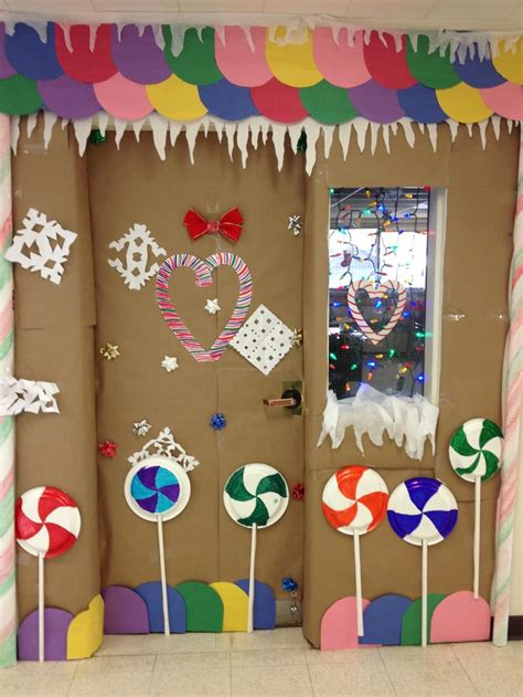 pinterest classroom door decorations christmas gingerbread house classroom door decorating 2nd place winner door