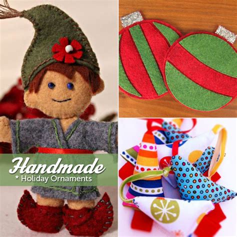 Handmade Ornament Patterns - handmade ornaments a tradition inspire yours today