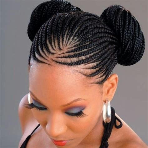black hairstyles and names braid bun hairstyle fashion police hairstyles
