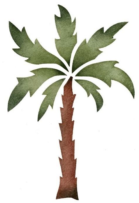 printable stencils tree great palm tree stencil beach house 1 pinterest