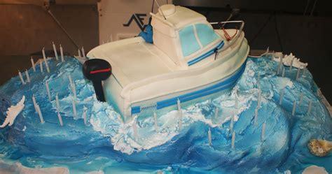 bolo de aniversario barco de pesca
