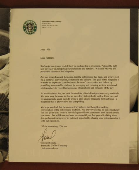 Cover Letter For Starbucks by Starbucks Cover Letter Addressed To How To