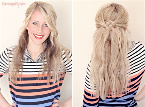 down hairstyles casual 25 gorgeous half up half down hairstyles to try today