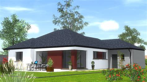 Maison Plain Pied Design by Maison Design Plain Pied Maison Design Apsip