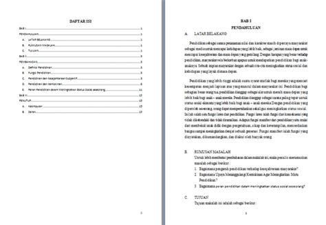 format makalah pdf contoh makalah pengantar pendidikan contoh makalah kita