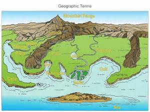 us landform map blank spi 0307 7 1classify landforms and bodies of water accor