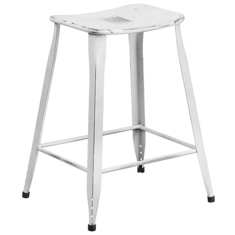distressed white counter stools premier distressed white counter stool eurway modern