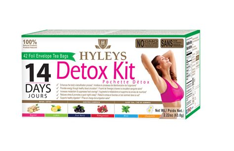 What Happens In A 14 Day Detox Program by Hyleys 14 Day Detox Kit Hyleys Tea