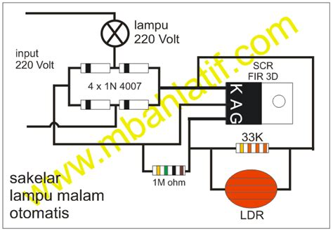 Saklar Sensor Cahaya Ac 220 Volt Photo Electronic Sensor bikin sendiri sakelar peka cahaya www mbahlatif