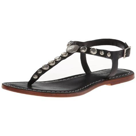t sandals bernardo 9264 womens mojo studded t flats