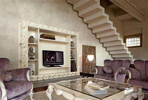 Arredamento Salone Classico by Soggiorno Classico Volpi Scali Arredamenti
