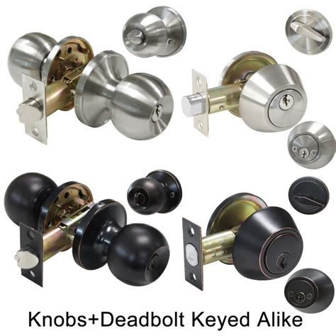 Keyed Alike Door Knobs And Deadbolts by Rubbed Door Knob Lockset Antique Collectors