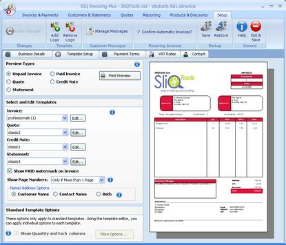 SliQ Invoicing and Quoting Plus   Free download and