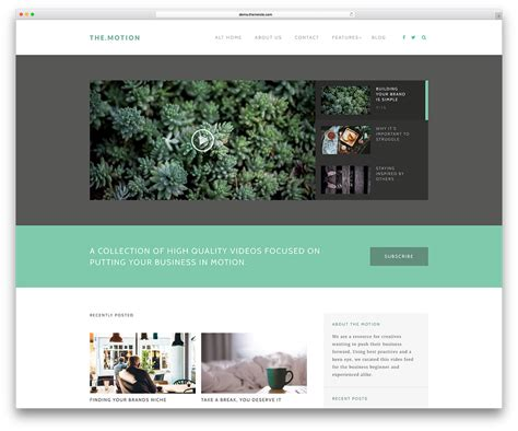 blogspot themes black best wordpress video themes for embedded and self hosted