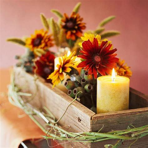 cool fall decorating ideas 50 cool fall flowers d 233 cor ideas for your home digsdigs