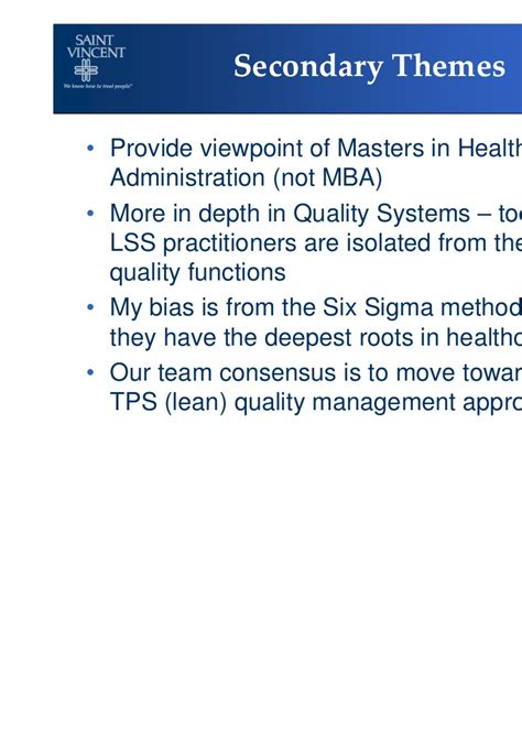 Mba Vs Six Sigma Black Belt by Lean Six Sigma Practitioners The Transition To