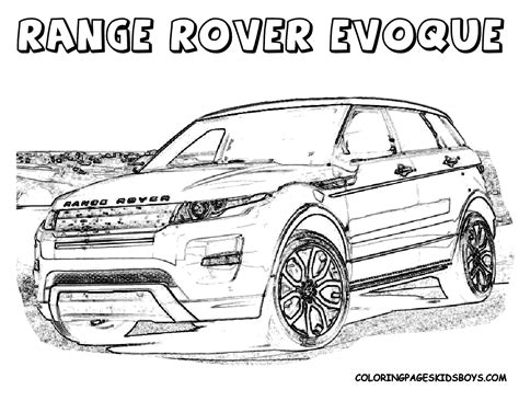 cars land coloring pages free coloring pages of rangerover sport