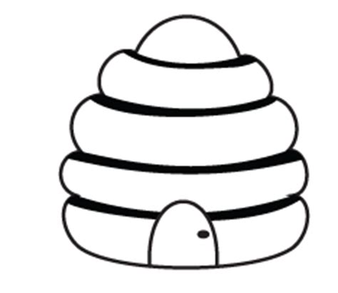 hive template beehive pictures for clipart best