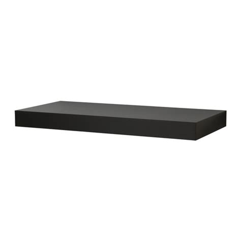 wall shelves ikea persby wall shelf black brown ikea