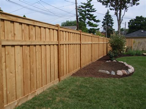 backyard privacy fence radio fencing options bob s blogs fences backyard