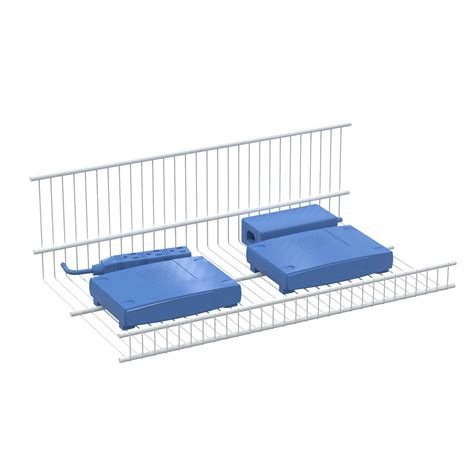 Wire Shelf Rack by An 18 W X 10 D Wire Rack Shelf For Supporting Peripheral