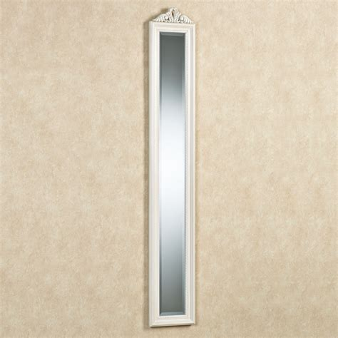 mirror wall panels bellmae ivory finish panel wall mirror
