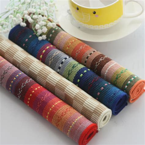 Fabric Table Mats by Buy Wholesale Cotton Placemats From China Cotton Placemats Wholesalers Aliexpress