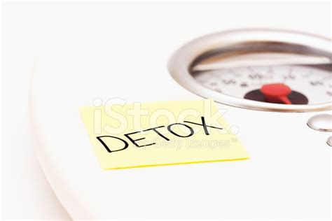 What Licensure Is Used For A Detox Unit by Scale With Label Ordering A Detox Stock Photos